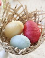 See how simple it is to make Tara's soft cotton eggs for Easter