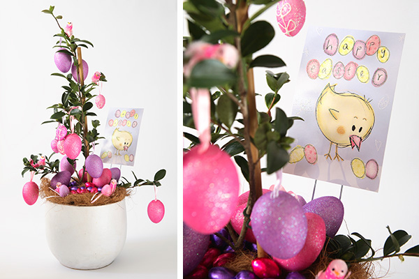 Tara Dennis Easter craft idea - egg plant - beautiful as a Easter decoration and lovely as a gift