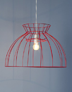 see how to make this industrial lampshade