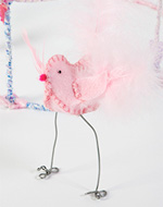 see how to make these cute spring birds